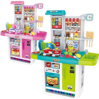 kids play kitchen sets baskets 2017 new electronic toy big toys for kid