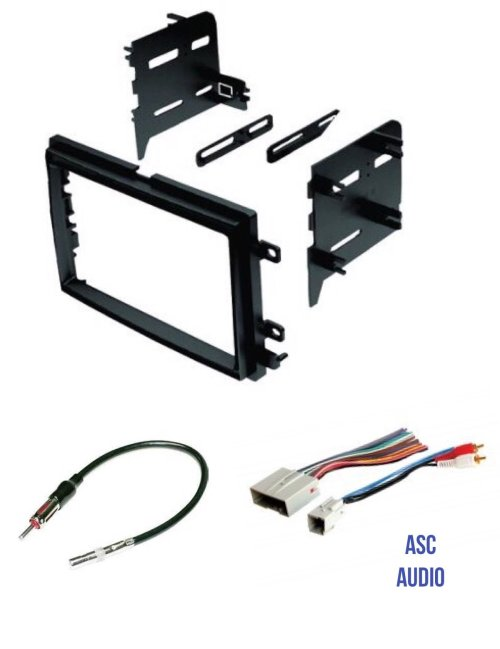 small resolution of get quotations asc audio car stereo radio install dash kit wire harness and antenna adapter to