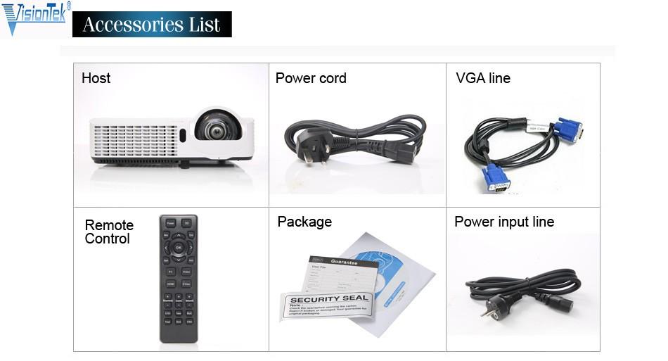 Home Cinema Vs267 Full Hd 1080p Dlp Short Throw Data Show