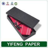 Customized Black Hard Cardboard Paper Bow Tie Packaging ...
