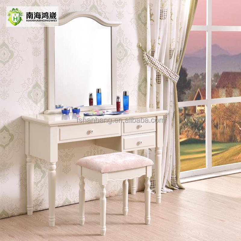 Witte Moderne Slaapkamer Meubels 3 stuk Queen Size