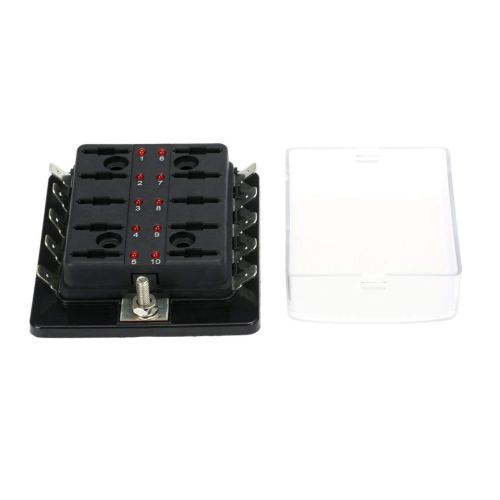 small resolution of get quotations mazur 10 way car blade fuse box holder with red led warning light for car vehicle