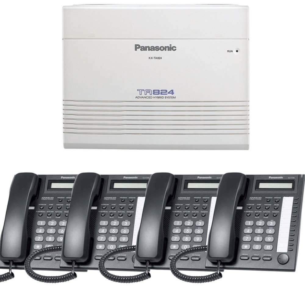 medium resolution of get quotations panasonic small office business phone system bundle brand new includiing kx t7730 4 phones black