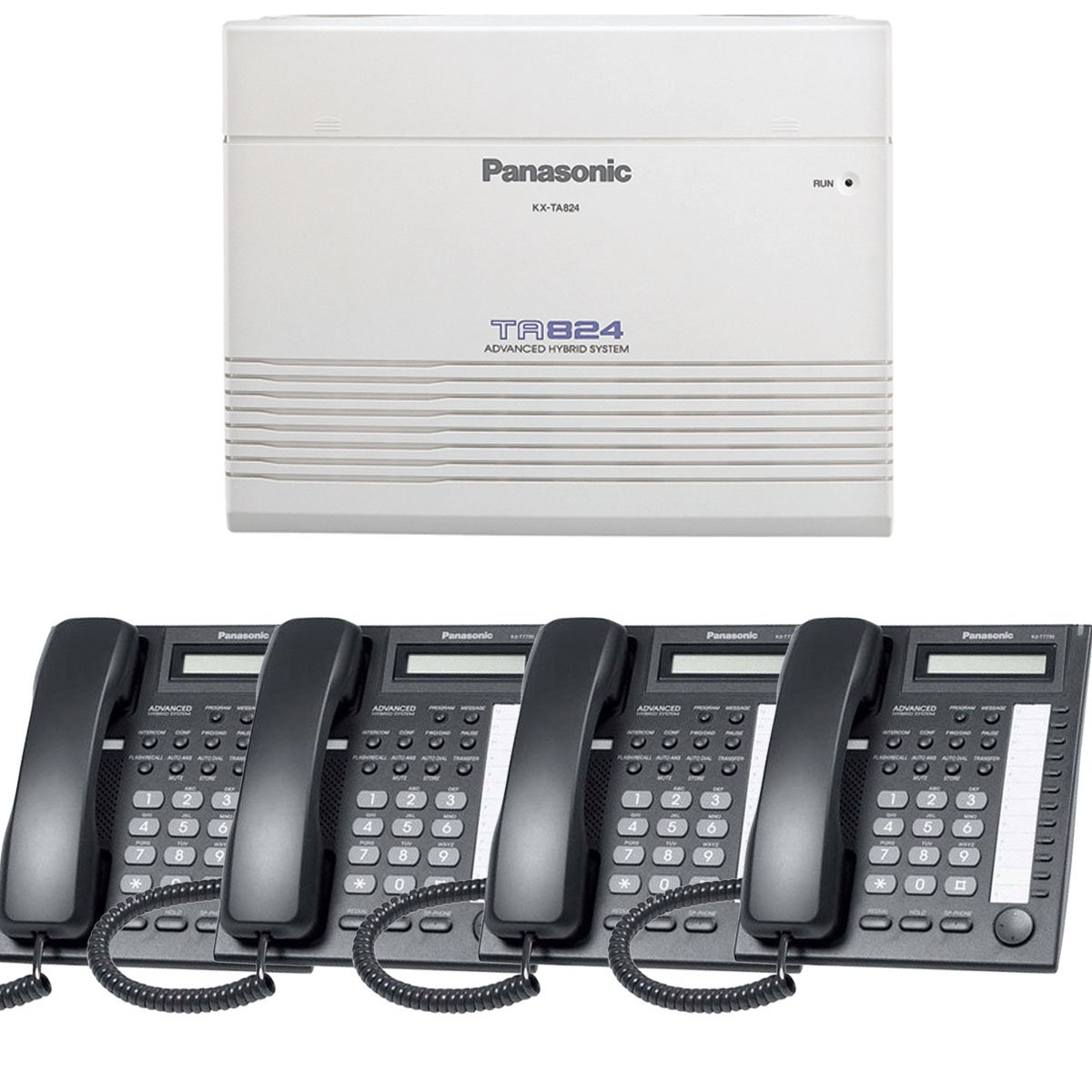 hight resolution of get quotations panasonic small office business phone system bundle brand new includiing kx t7730 4 phones black