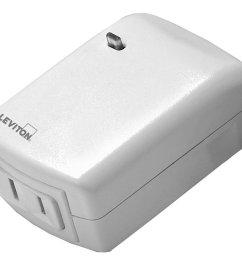 get quotations leviton vizia rf smart plug scene capable lamp dimming works with amazon alexa [ 1065 x 875 Pixel ]
