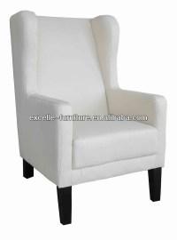 Modern High Back Wing Chair,High Back Throne Chair,King ...