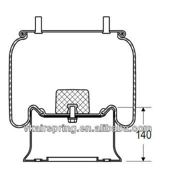 HENDRICKSON B2065/506201/506243/78516 natural rubber air