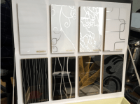 Decorative Acrylic Panel For Cabinet / Kitchen Cabinet Use