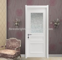 Wood Bathroom Frosted Glass Interior Door - Buy Frosted ...