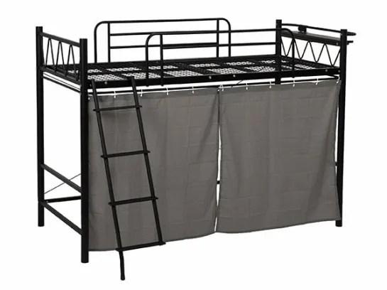lit edredon en fer avec rideaux rangement moderne de haute qualite economie d espace en metal innovant pour adultes buy lit mezzanine adulte pas
