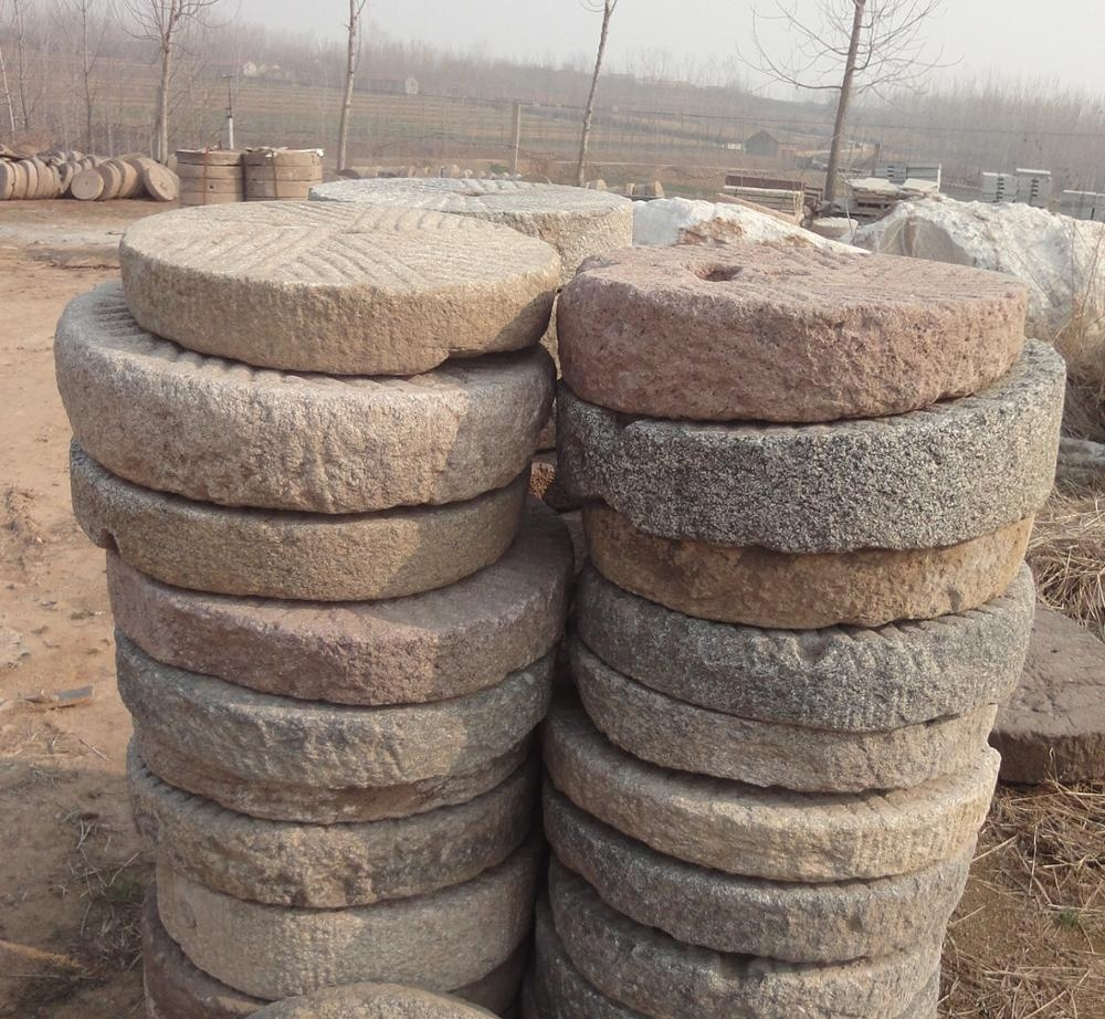 Sale Real Old Millstone Outside Steps Stone Buy Stone Millstone | Outside Steps For Sale | Wood | Iron | Handrail | Pensacola | Door