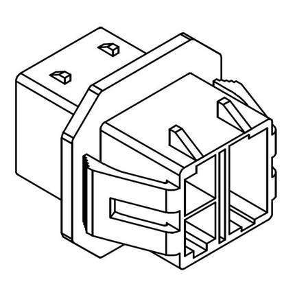 Molex Housing,Wire Connector Terminal Housing,Plastic