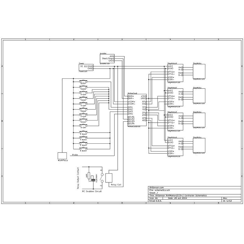 5 Axis Mach3 Cnc Breakout Board Card 1000khz Usb Cnc