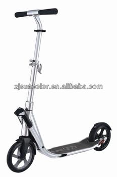 Full Aluminium Alloy Big 200mm Pu Wheel Oxelo Pro Scooter