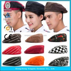 Kitchen Hats Cool Knives Restaurant Chef Cap Hat Buy Customised Uniform Product On Alibaba Com