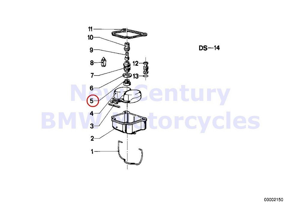 Buy 2 x BMW Genuine Motorcycle Carburetor Mounting Parts