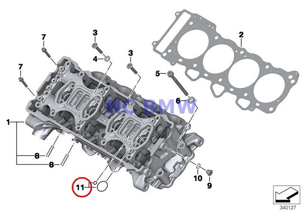 Buy 4 X BMW Genuine Motorcycle Cylinder Head Cover/ Screw