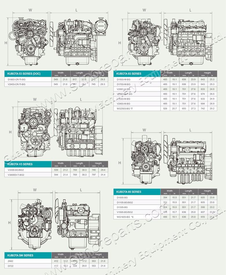 DAEWOO DOOSAN D1146 D1146T DE08TIS ENGINE MAINTENANCE