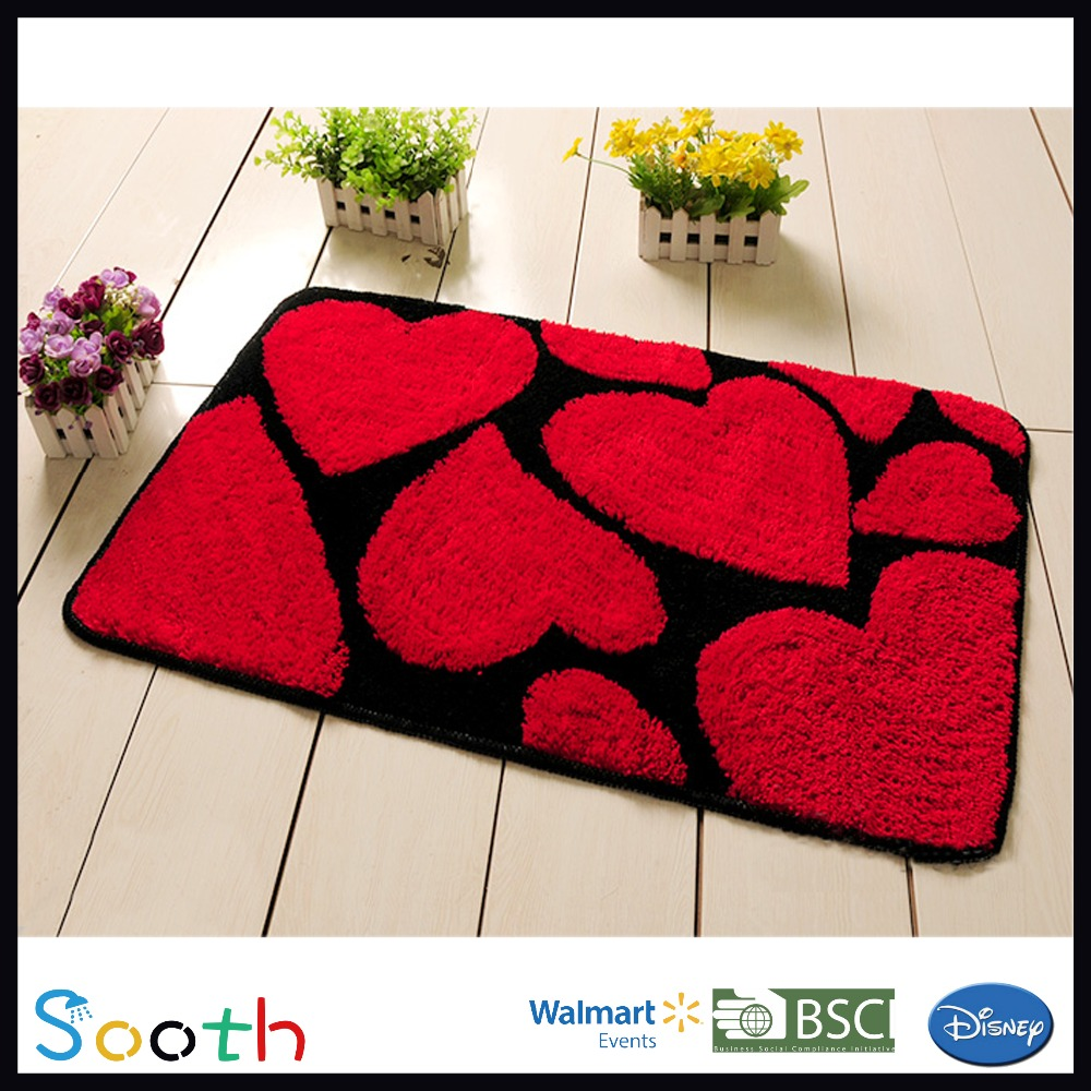 Red Bathroom Rug China Red Bath Rug China Red Bath Rug Manufacturers And Suppliers
