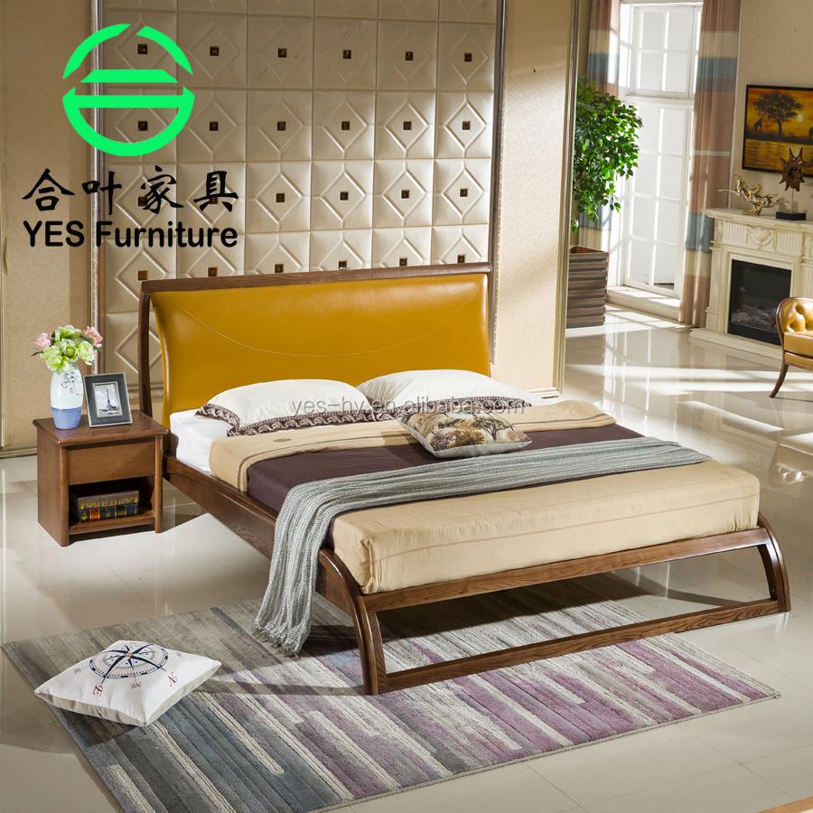 meubles de chambre a coucher moderne de style nord europeen en bois massif lit 706 buy lit en bois massif lit de style nordique lit cutane product