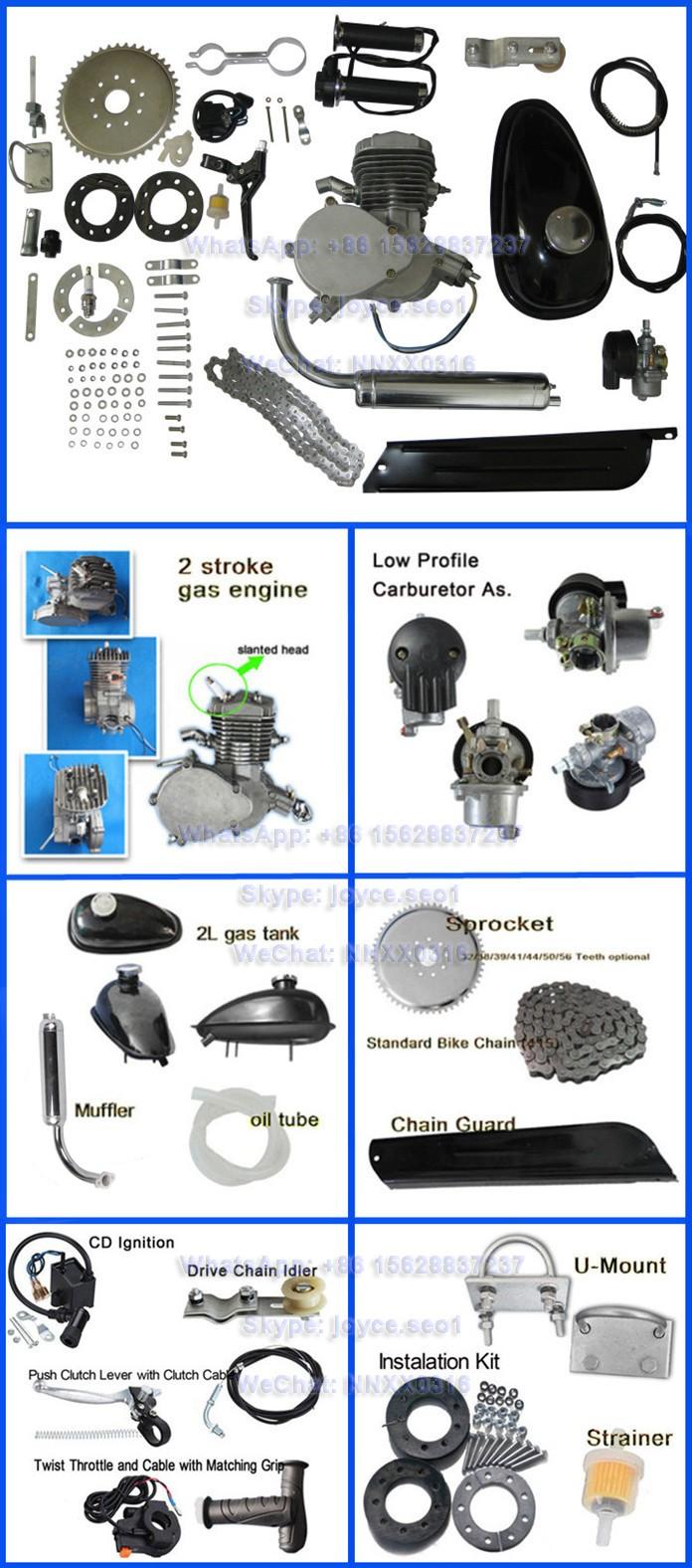 medium resolution of kick start 48cc 49cc 50cc 60cc 66cc f80 80 cc 2 stroke bike gasoline bicycle motor