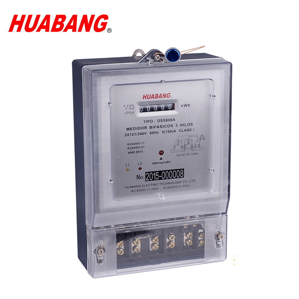 hight resolution of dss866a south america cyclometer display pc material two phase three wire electric power meter