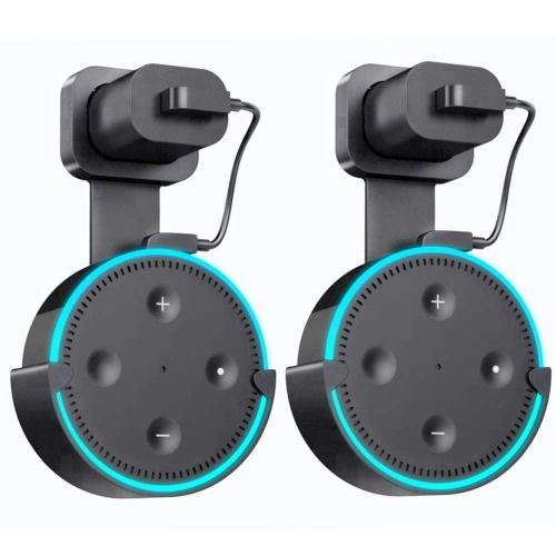 small resolution of get quotations wall mount hanger holder for echo dot2 yooker best space saving dot accessories case