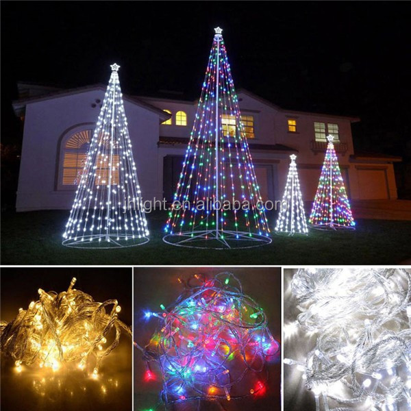 Battery Powered Outdoor String Lights