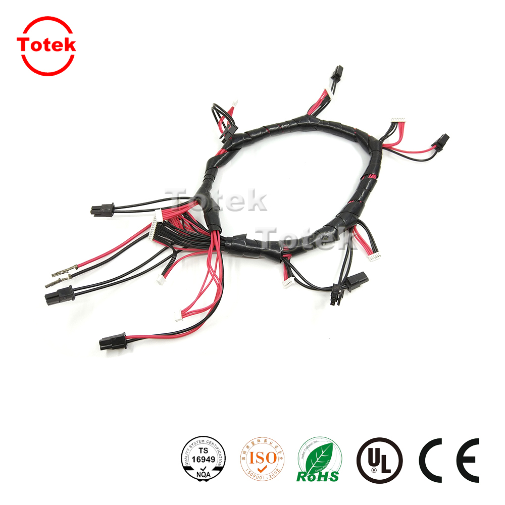 Custom Auto Wire Harness With Tyco / Jst / Molex Connector