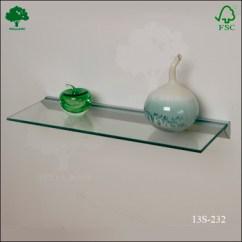 Living Room Glass Shelves Decorating Built In Tempered Shelf