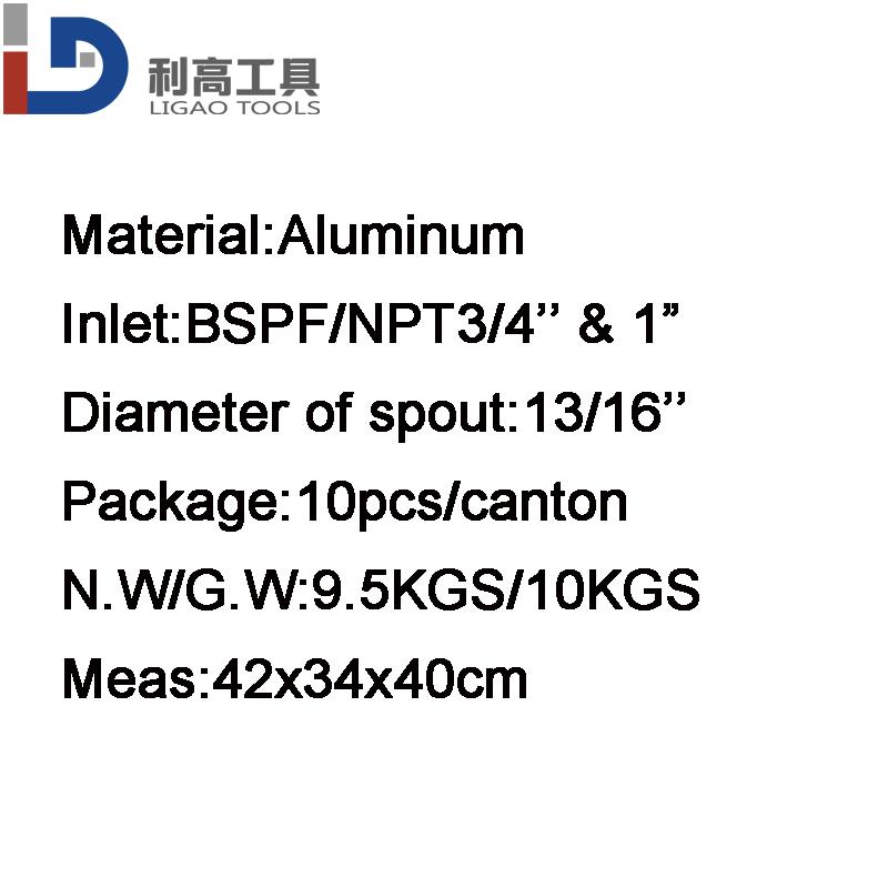 13a Universal Aluminum Manual Fuel Diespensing Nozzle Fuel