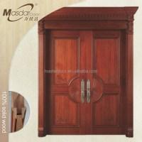 Best Church Double Leaf Exterior Wooden Door Design - Buy ...