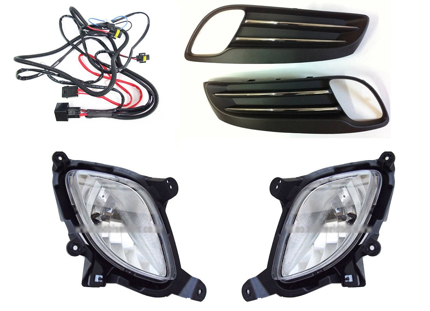 hight resolution of  sell by automotiveapple hyundai motors oem genuine front lh rh fog lights lamp assembly