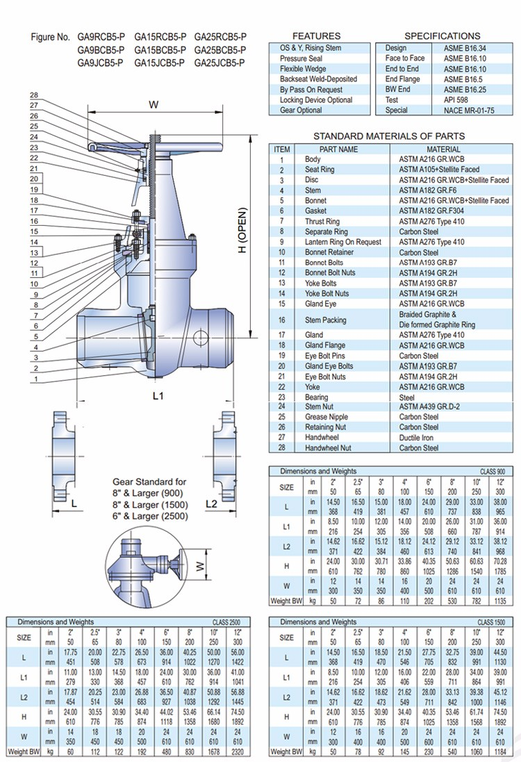 hight resolution of china wholesale ga p series 8 inch pressure seal butt weld gate valve with prices