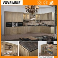Modern Solid Wood Kitchen Cabinet - Buy Kitchen Cabinet ...