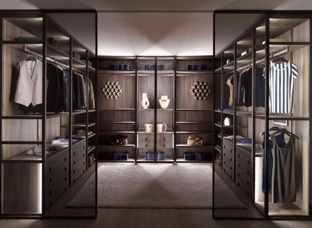 Modern Bedroom Design Aluminum Glass Door Wardrobe,Custom ...