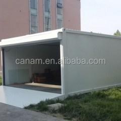 Baja Ringan Untuk Garasi Mobil Buy Canam Steel Garage Flat Roof Portable Carport For Sale