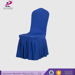 Royal Blue Chairs Chair For 2 Year Old Covers Skirting Folding Buy