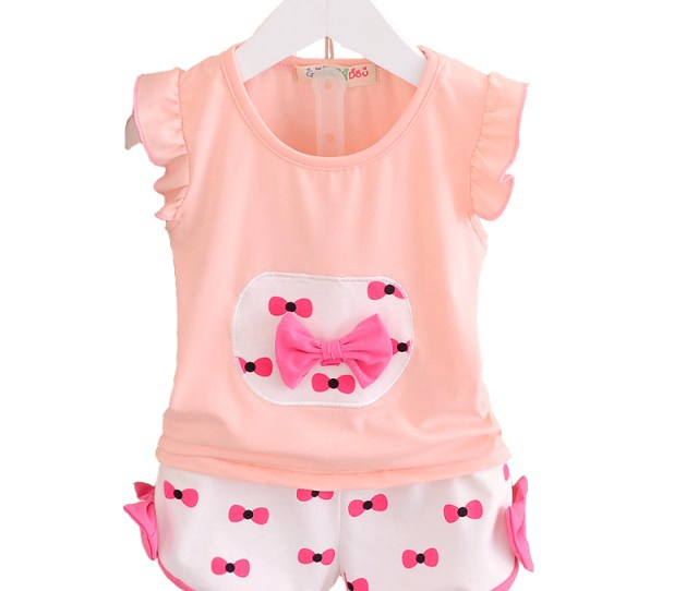 Get Quotations  C B Baby Girls Clothing Set Short Sleeve Toddler Girl Clothing Summer Style Children Kids Girls Clothes Set