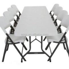 Tables And Chairs Rubber Chair Protectors Events Party Plastic Garden Table For