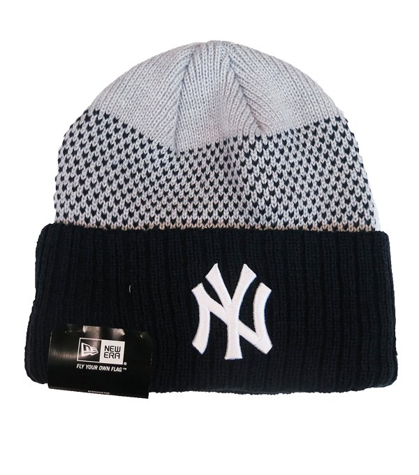 York Yankees Black Beanie Hat - Mlb Ny Cuffed Winter Knit Cap In Cheap