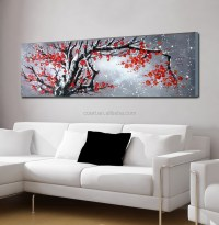 Chinese Painting Abstract Textured Canvas Wall Art - Buy ...