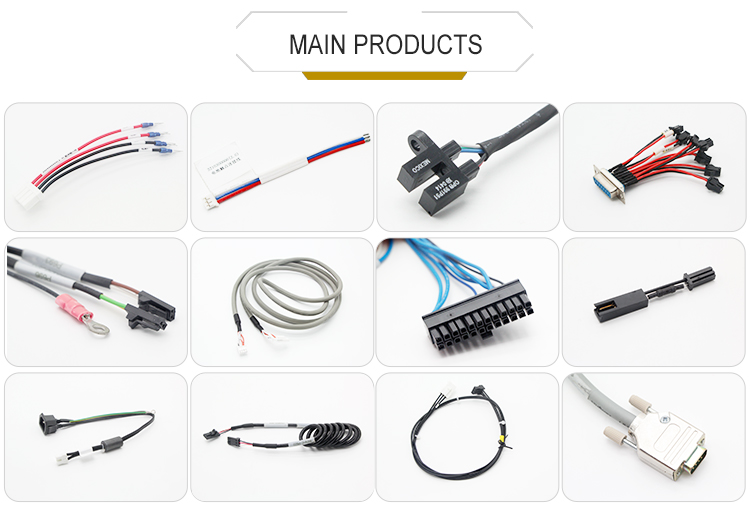 High Quality Waterproof 6 Pin Wire To Board Connector Wire
