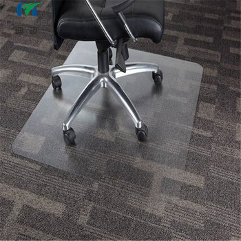 office chair mat folding dubai skid resistance for carpet frosted polycarbonate sheet