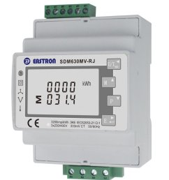 eastron sdm630mv rj 3 phase multifunction energy meter easy wiring with rj12 ct lcd digital meter 100ma 333mv modbus [ 870 x 1000 Pixel ]