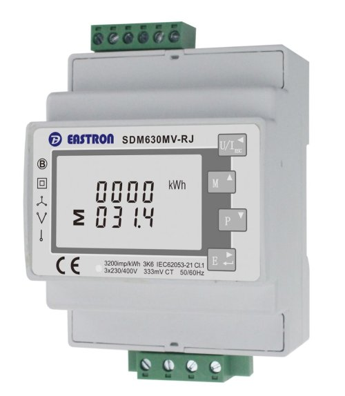 small resolution of eastron sdm630mv rj 3 phase multifunction energy meter easy wiring with rj12 ct lcd digital meter 100ma 333mv modbus