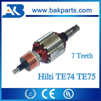 Hilti Rotor Hammer Drill Spare Parts Te 74 75 Ar 220v 7 Teeth