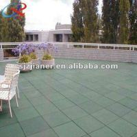 Rubber Flooring Tiles For Cafe Terrace - Buy Rubber Mats ...