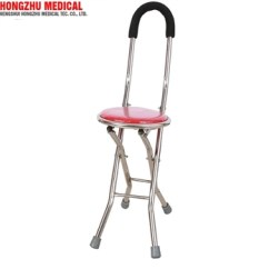Walking Cane Chair John Deere Office Hot Sale Disabled Folded Seat Buy