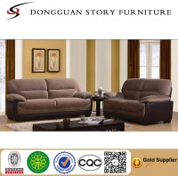 Rocker Sofa Top Grain Leather Reclining Sofa Loveseat